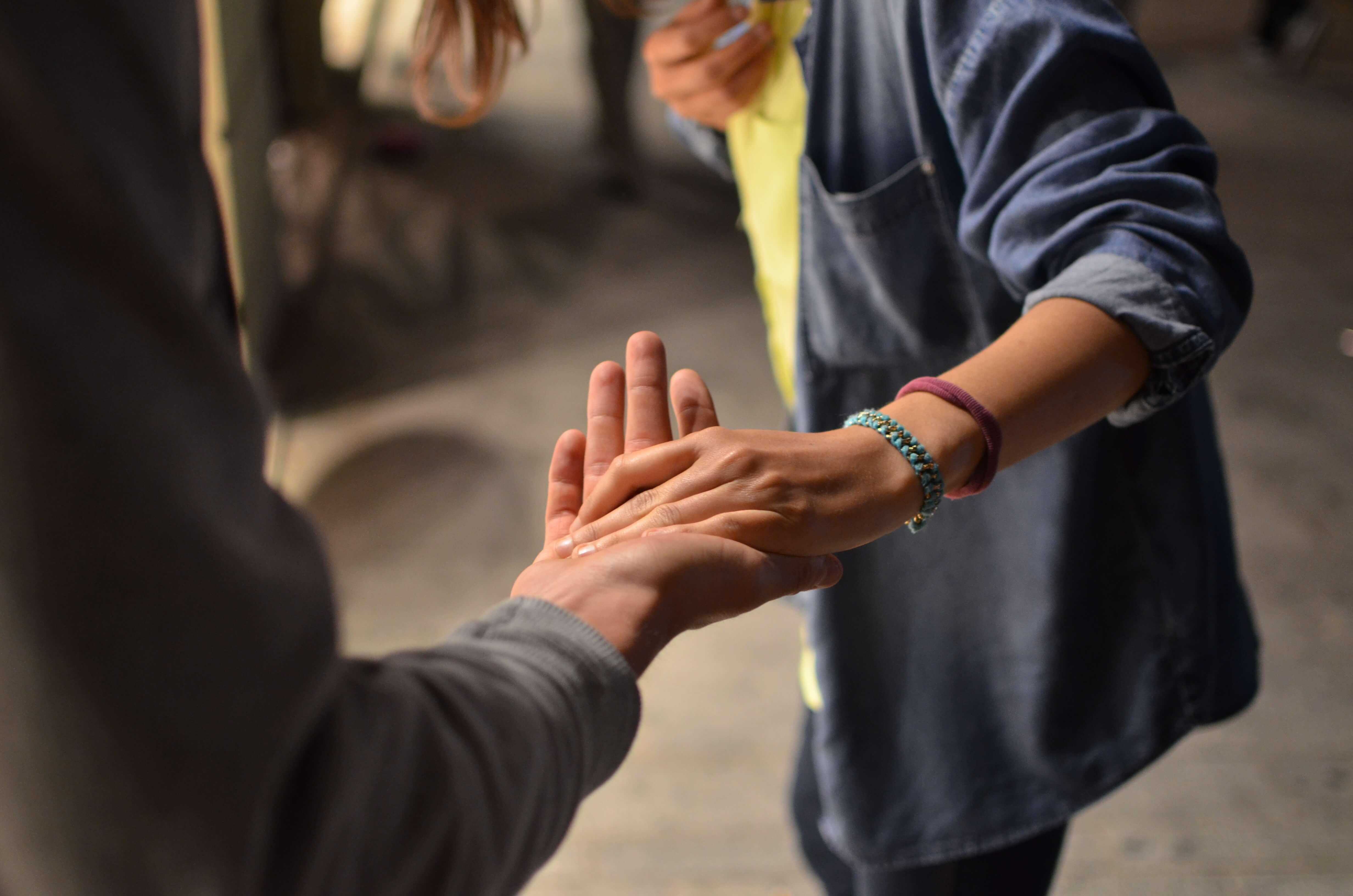 愛と忍耐ボランティア